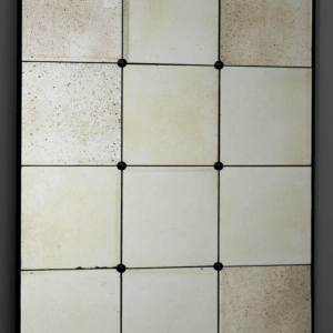 12 pane antiqued mirror. €369. 101cm x 76cm YELIR-MV