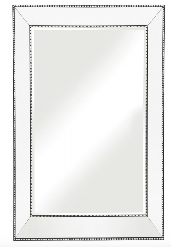 Beaded Mirror Frame Mirror