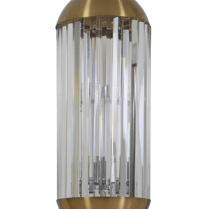Brass and Crystal Cylinder Ceiling Light. NOSYARG-LL €395