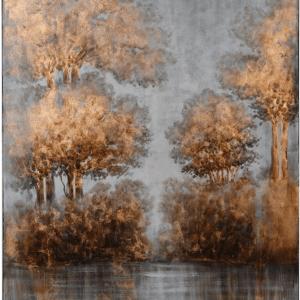 Gold Tree Scene 152 x 101 €365