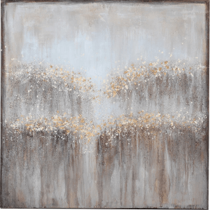 Grey and Gold oil painting 120 x 120 €220