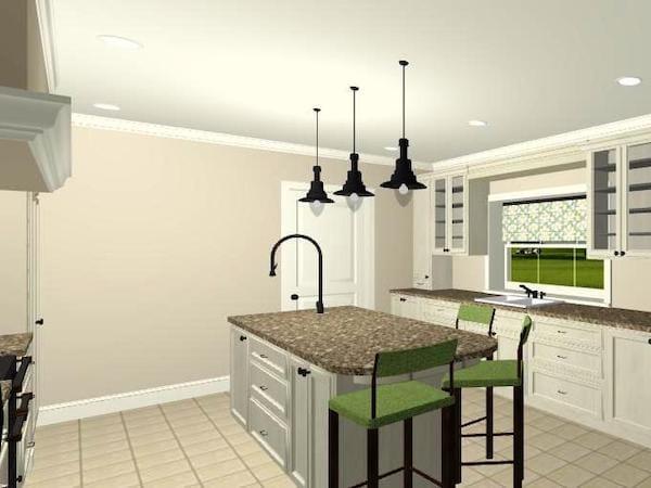 3D Image Kitchen Design
