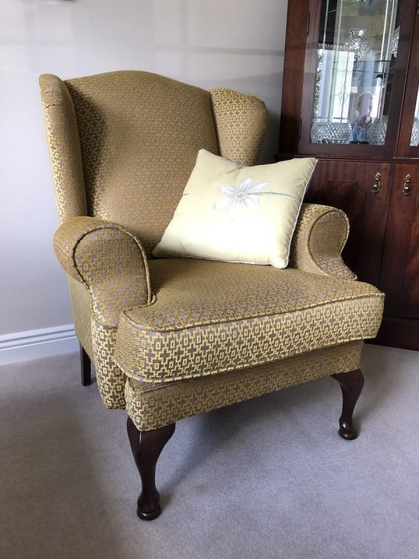 killane wing back chair