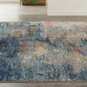 Multi-blue rug